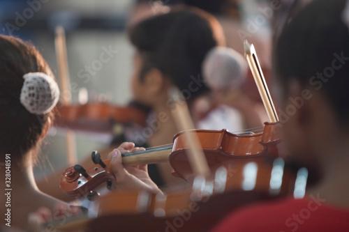 Fototapeta projeto social de músicos em Corumbá, Mato Grosso do Sul, Brasil