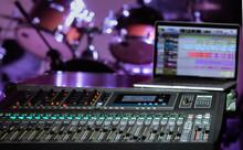 Digital Mixer In A Recording S...