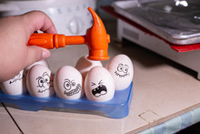 Please Do Not Make Me.Eggs That Are Being Hammered