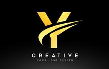 Creative Y Letter Logo Design ...