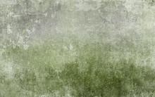 Old Distressed Green Grungy Wa...