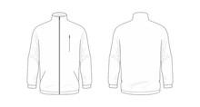 Jacket Template/mockup For Des...