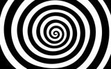Fototapeta Perspektywa 3d - black and white tunnel texture background