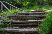 Athens, Greece. Stairs Going U...