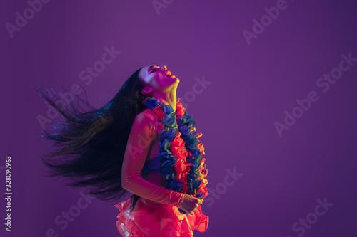 Fotografie, Tablou Motion, flying hairs