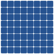 Solar Panel Background- Vector Illustration