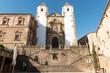 Cáceres, España - 15 de agosto de 2019: la iglesia de San Francisco Javier en Cáceres