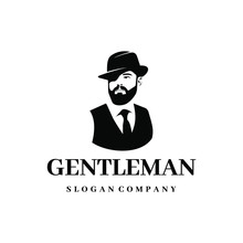 Gentleman Logo Design. Awesome...
