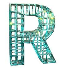 3D Rendering. Uppercase Letter...