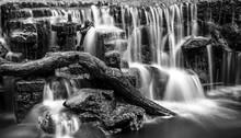Weir, River Garnock, Aryshire,...