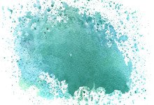 Abstract Turquoise Background ...