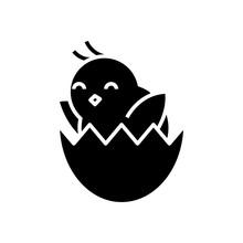New Chicken Black Icon, Concep...
