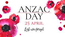 Anzac Day Banner Design Templa...