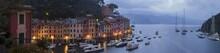 Panoramic View Of Portofino In...