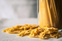 Spaghetti, Penne And Farfulle ...