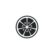 Fresh Lemon Fruits Icon Template Color Editable. Lemon Fruits Symbol Vector Sign Isolated On White Background Illustration For Graphic And Web Design.