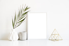 White Frame And Home Decoratio...
