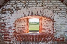 Fort Pulaski National Monument, Cockspur Island, Savannah, Georgia, USA