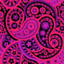 Magical Abstract-Paisley Dream...