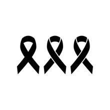 Black Ribbon, Mourning Symbol ...
