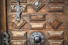 Old Wooden Doors With Rings - ...