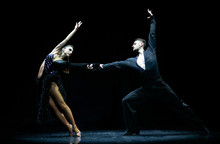 Couple Of Dancers Performing O...