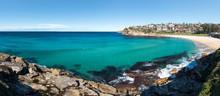 Panorama Photo Of Bronte Beach, Sydney Australia