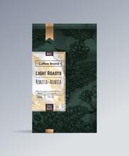 Bag Of Coffee Packaging Design...