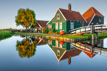 Traditional Dutch Wooden House...
