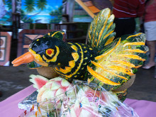 Fruit Carving In The Dominican Republic