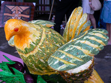 Fruit Carving In The Dominican...