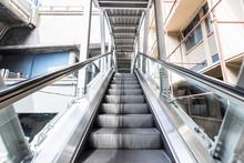 The Escalator BTS Skytrain Sta...