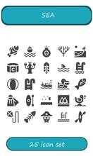 Sea Icon Set