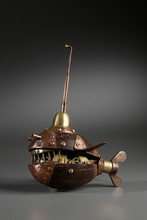 Steampunk Object Fish Made Of ...