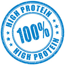 High Protein Product, Vector Stamp