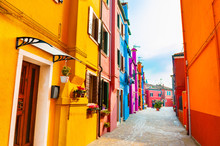 Colorful Architecture In Buran...