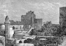 Crusader Castle In Byblos -  L...