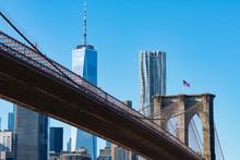 The Brooklyn Bridge With An Am...