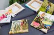 canvas print picture - square photo canvas at home, decoration, interior,