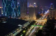 Street Highway Of Futian Distr...