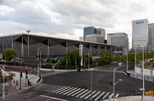 Shanghai World Expo Exhibition Convention Center Canvas-taulu