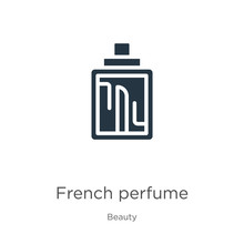 French Perfume Icon Vector. Tr...