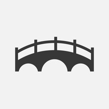 Bridge Vector Icon Solid For C...