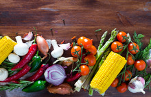 Fresh Vegetables Assortment Wi...