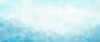 Leinwandbild Motiv Light blue abstract watercolor background