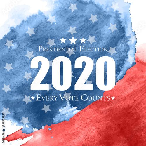 2020 United States of America Presidential Election Background Tapéta, Fotótapéta