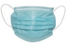 Surgical Mask With Rubber Ear ...