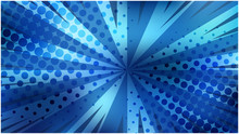 Abstract Vibrant Blue Striped ...