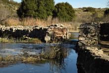 Old Padre Dam Spillway