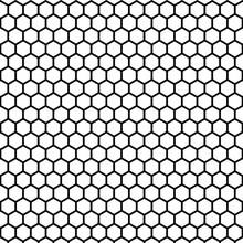 Abstract Geometric Hexagon Bla...
